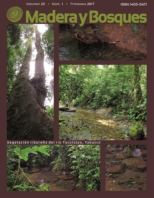 Portada Madera y Bosques 23(1)